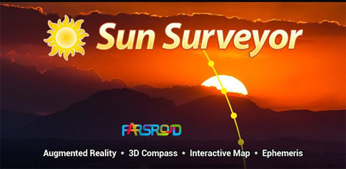 دانلود Sun Surveyor (Sun & Moon) - نمایش موقعیت ماه و خورشید