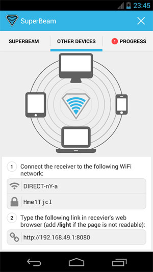 Download SuperBeam | WiFi Direct Share Android Apk - NEW FREE