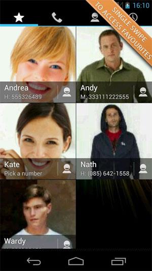 Swipe Dialer Pro Android - شماره گیر کاربردی اندروید