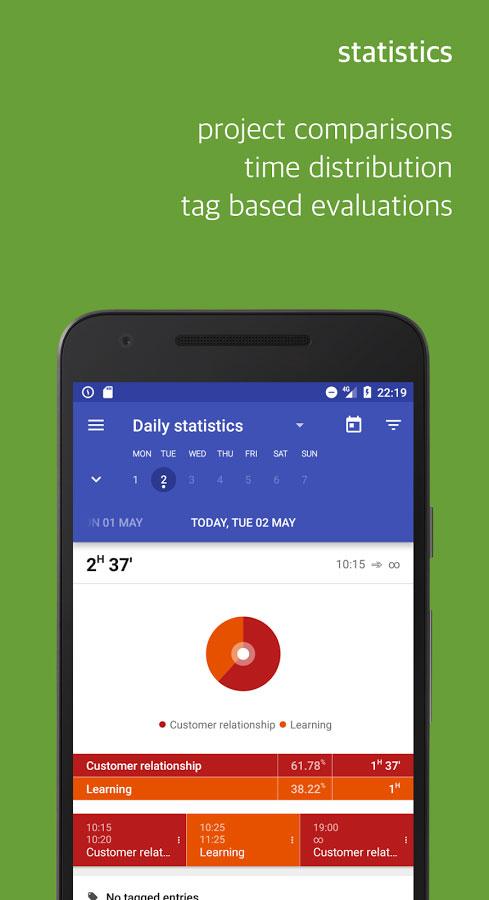 دانلود Swipetimes Time Tracker Full 10.7.1 – برنامه ردیاب زمان اندروید !