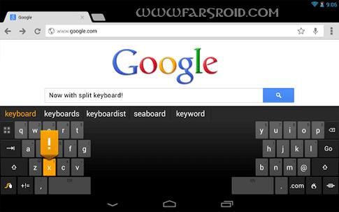 دانلود Swype Keyboard 3.2.4.3020400.50699 – صفحه کلید سریع اندروید