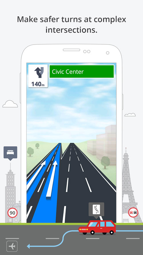 Sygic: GPS Navigation Android - SCREENSHOT 2
