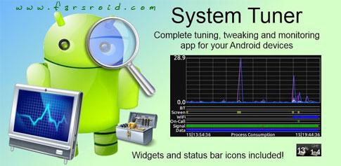دانلود System Tuner Pro - برنامه مدیریت سیستم کامل اندروید!