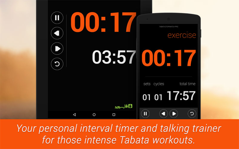 Tabata Stopwatch Pro - Tabata Timer Android