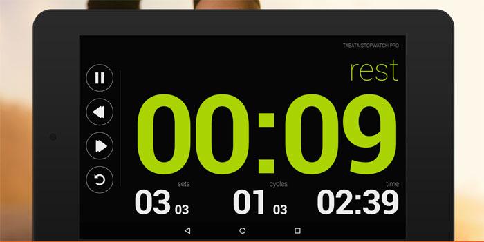 """دانلود Tabata Stopwatch Pro - Tabata Timer - کرنومتر فوق العاده """"تاباتا"""" اندروید"""