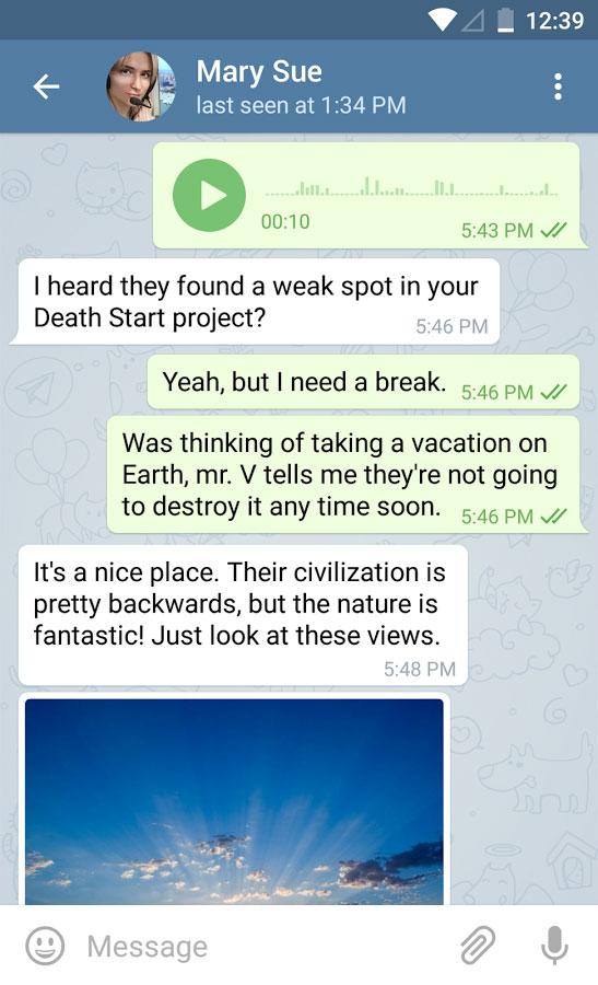Telegram Android - مسنجر تلگرام اندروید