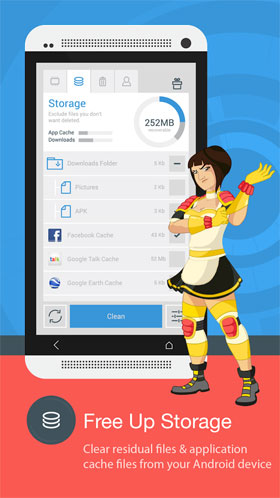 The Cleaner - Speed up & Clean Android
