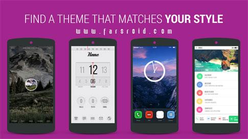دانلود Themer: Launcher, HD Wallpaper - اپلیکیشن شخصی سازی عالی اندروید