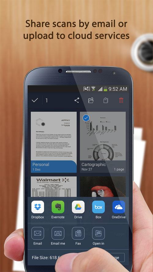 Tiny Scan Pro: PDF Scanner Android - اسکنر حرفه ای اندروید
