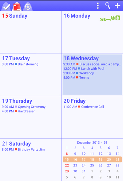 To-Do Calendar Planner + Android
