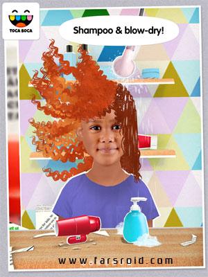 Toca Hair Salon Me Android - برنامه اندروید