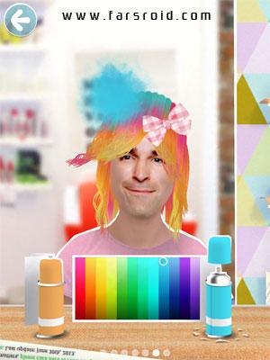Toca Hair Salon Me Android - برنامه جدید اندروید
