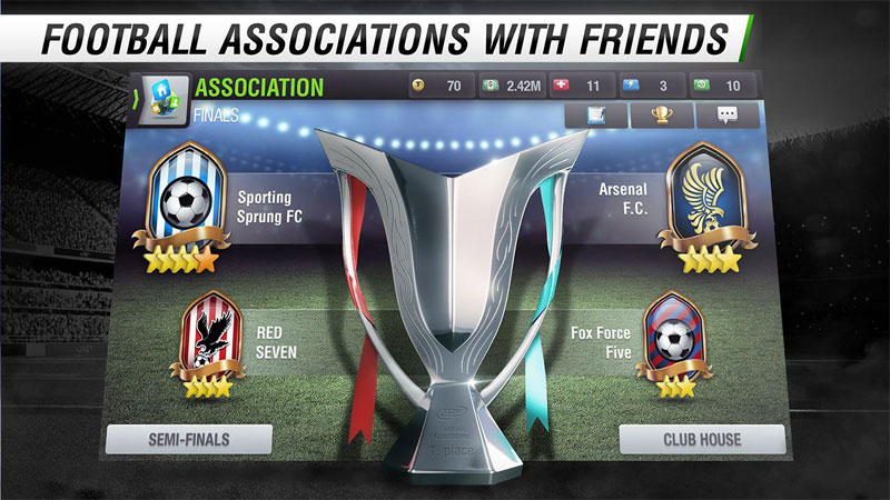 Top Eleven Android - بازی اندروید
