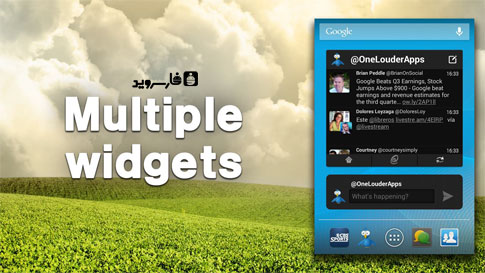 TweetCaster Pro for Twitter Android - برنامه کاربردی اندروید