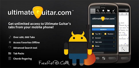 Ultimate Guitar Tabs Android