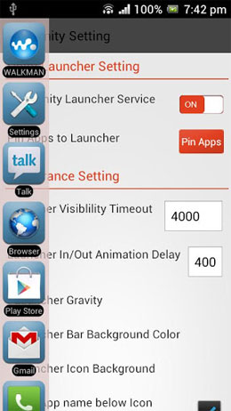 Unity Launcher Android