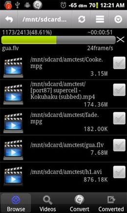 دانلود Video Converter Android 1.6 – مبدل ویدئو اندروید + کدک ها