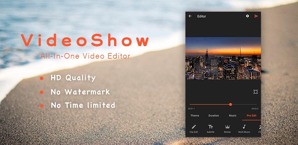 دانلود VideoShow Pro - Video Editor - ویدئو ادیتور قوی اندروید !