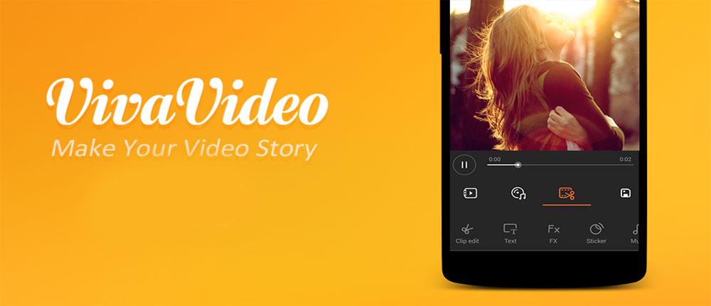 دانلود VivaVideo Pro: Video Editor - بهترین برنامه دوربین فیلمبرداری اندروید!