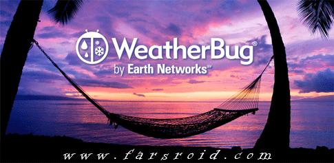 دانلود WeatherBug Elite - هواشناسی دقیق اندروید