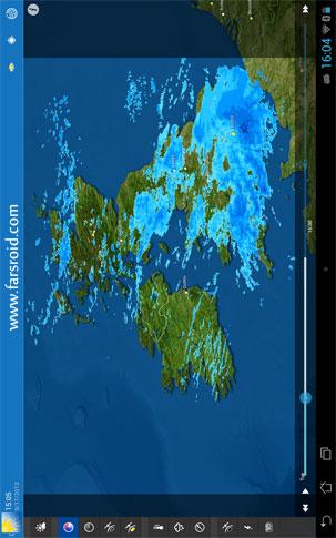 دانلود WeatherPro HD for Tablet 3.3.1 – هواشناسی دقیق تبلت اندروید!