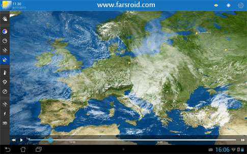 Download WeatherPro HD for Tablet Android Apk - New