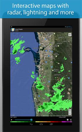 Weatherzone Plus Android - نرم افزار اندروید