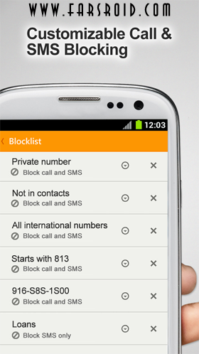 WhosCall – Caller ID & Block Android برنامه اندروید
