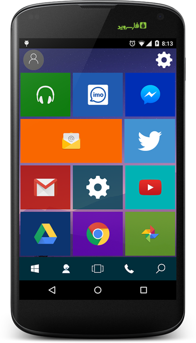 Win 10 Launcher : Pro Android