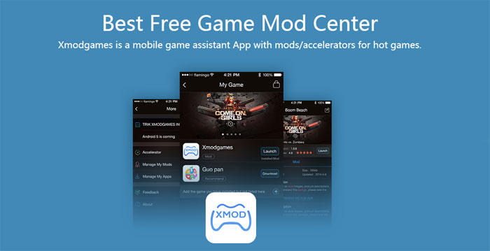 Download Xmodgames-Free Game Assistant - cheat tool in Android games!