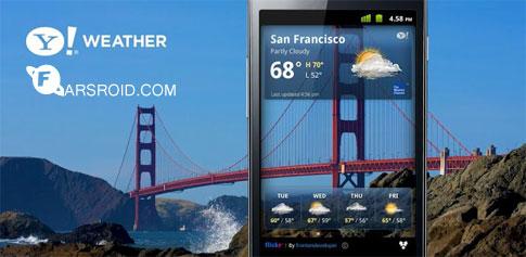 Yahoo! Weather - برنامه هواشناسی یاهو