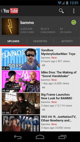دانلود YouTube – برنامه رسمی سرویس ویدئو یوتیوب مخصوص اندروید!