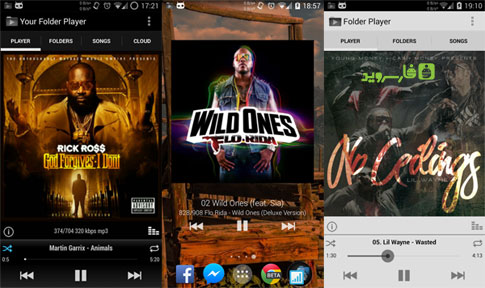 Download Your Folder Player (Cloud) - Android Music Player!