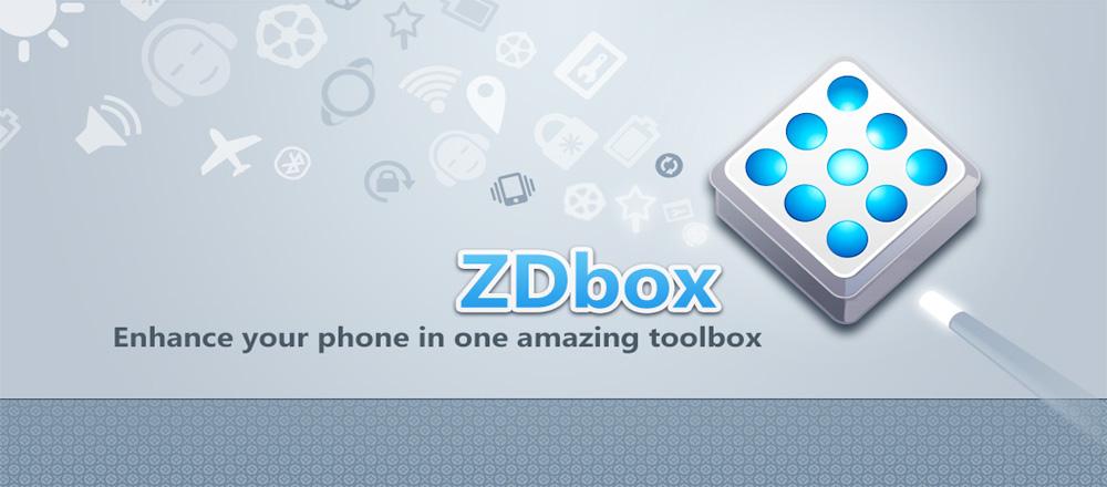 دانلود ZDbox - مجموعه ابزار بهینه سازی اندروید