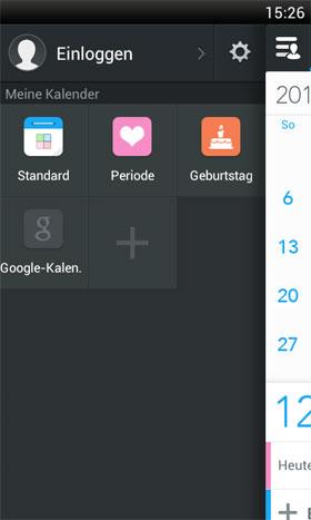 ZDcal-Calendar, Agenda, Period Android - برنامه اندروید