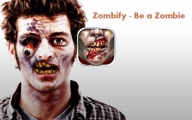 دانلود Zombify - Be a Zombie FULL - برنامه جالب تبدیل چهره به زامبی اندروید !