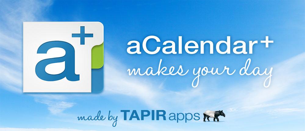 دانلود aCalendar+ Android Calendar - تقویم فوق العاده ی اندروید
