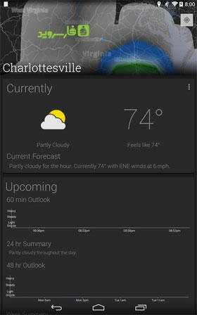 atmosHere Weather Android - بازی جدید اندروید