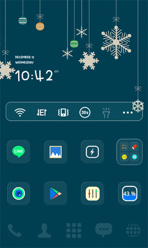 dodol Launcher – phone decor Android - لانچر اندروید