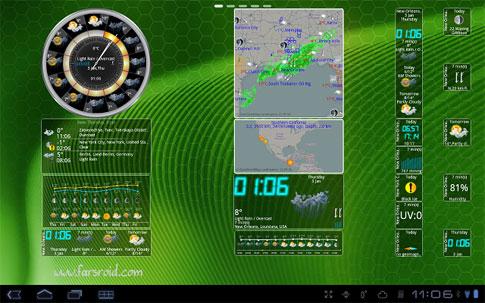 eWeather HD Radar HD Alerts Android برنامه اندروید