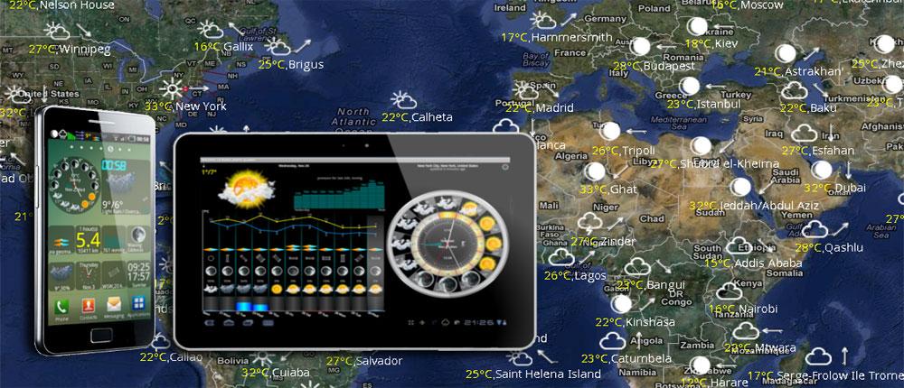 دانلود eWeather HD, Radar HD, Alerts - هواشناسی قدرتمند آندروید