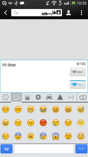 iKeyboard - emoji,emoticons Android - برنامه اندروید