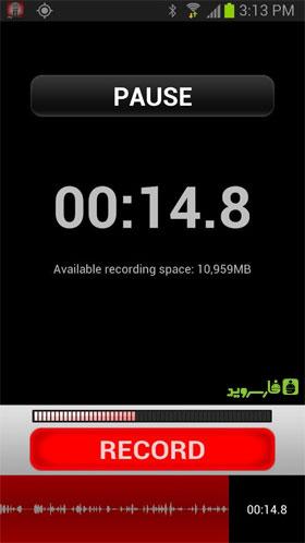 iRig Recorder Android - برنامه اندروید