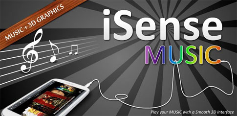 iSense Music - 3D Music Player - موزیک پلیر سه بعدی اندروید