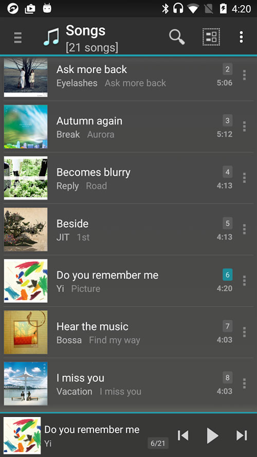 jetAudio Plus Android