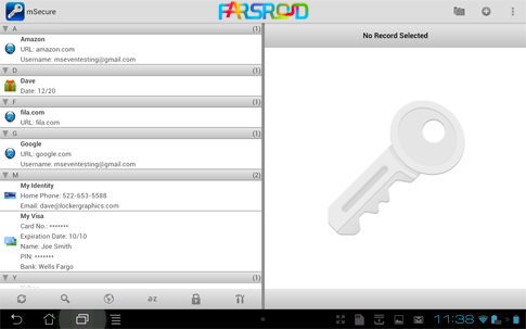 Download mSecure - Password Manager Android APK