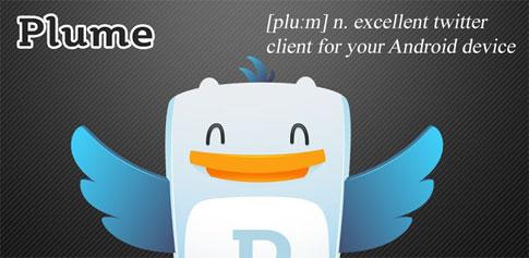 دانلود Plume for Twitter - نرم افزار توئیتر اندروید