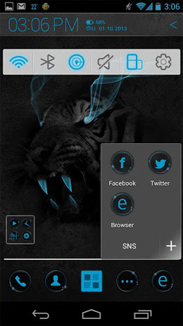 Atom Launcher Screenshot