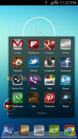 GLASS APEX/NOVA/GO THEME Screenshot
