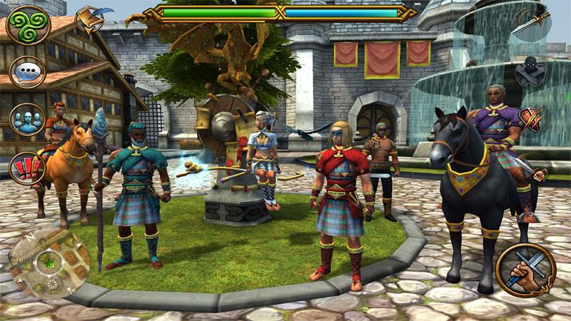 3D MMO Celtic Heroes - بازی جدید اندروید
